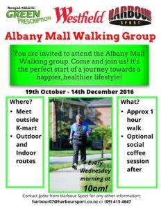 Albany Mall Walking