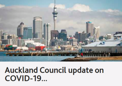 Auckland Council's Update on COVID-19